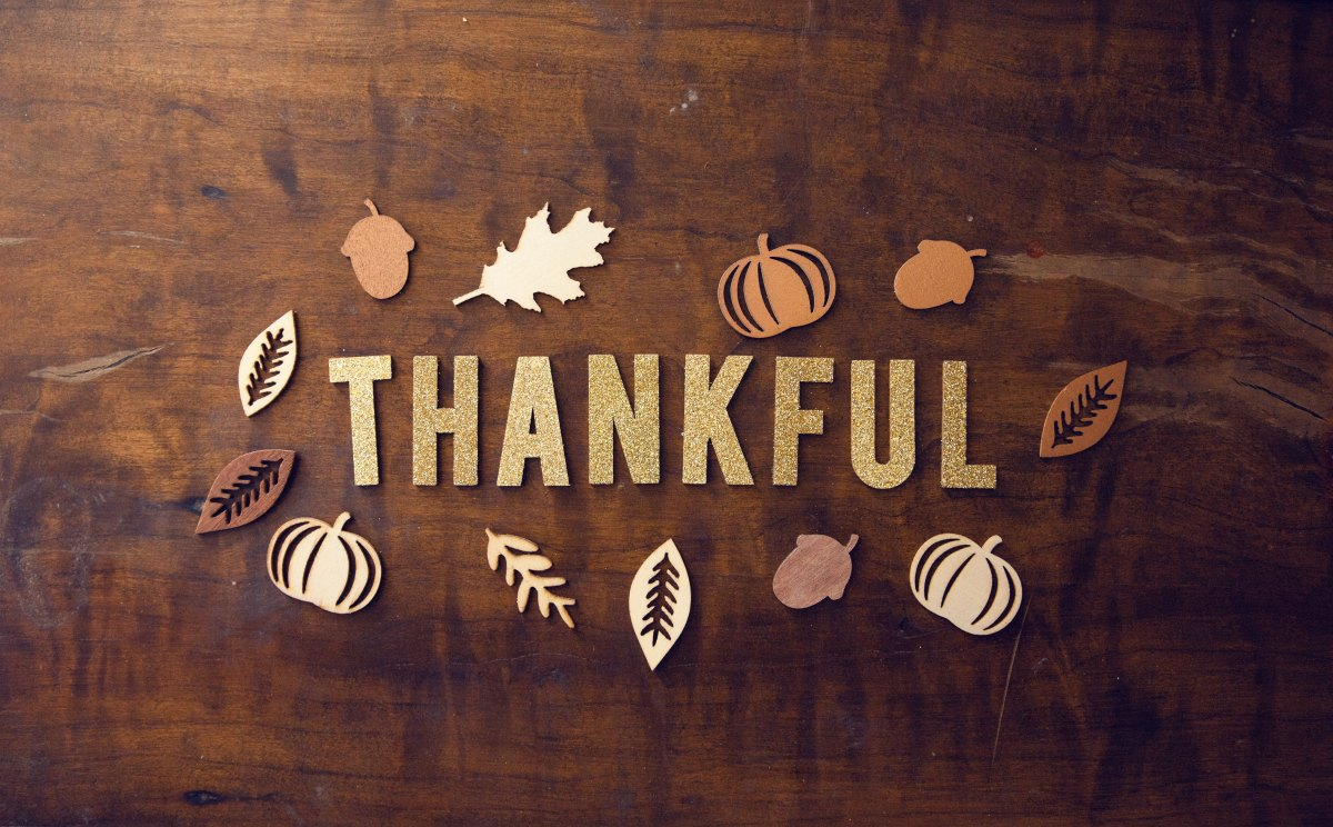 What J.E. is Thankful For ThisYear