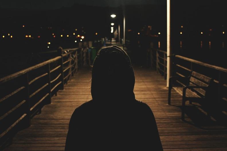 Dark Shadows Sweater Evening Hoodie People Night