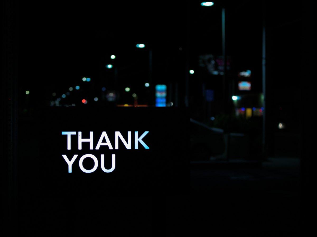 Thank you! AnotherMilestone!
