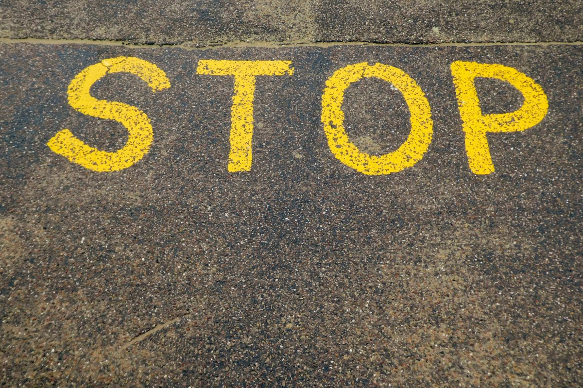 Stop. The Most Powerful Word You Can TellYourself